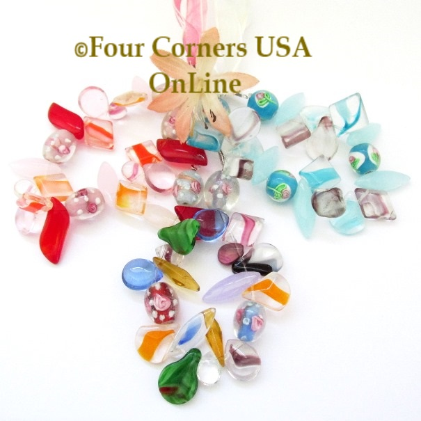Glass Beads Jewelry Making Crafting Supplies Four Corners USA OnLine