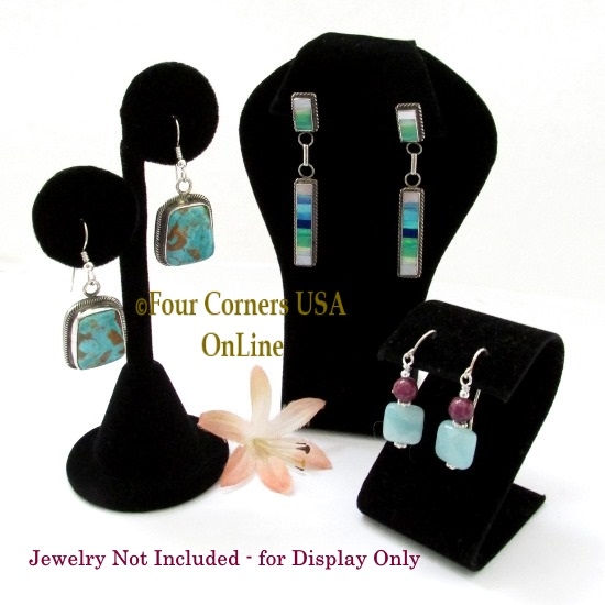 Jewelry Necklace Earring Bracelet Displays Four Corners USA OnLine