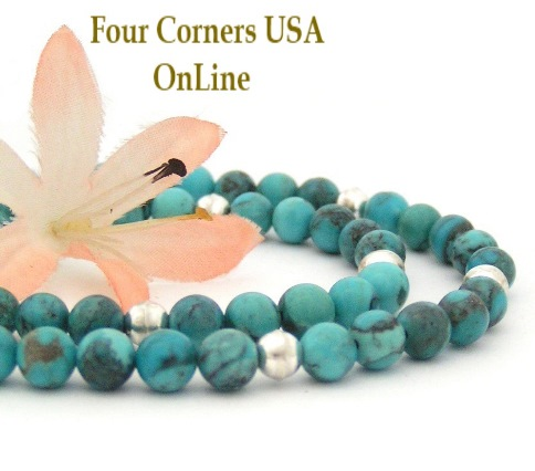 Turquoise Bead Necklaces Pendants Four Corners USA OnLine