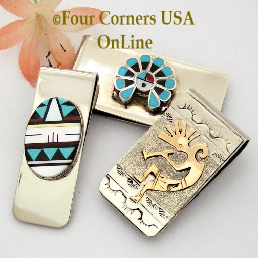 Money Clips at Four Corners USA OnLine Native American Jewelry Crafts