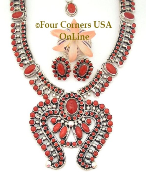 Native American Artisan Jewelry Sets at Four Corners USA OnLine