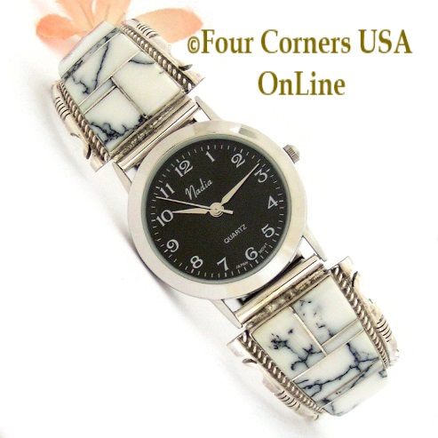 Mens Sterling Watches Four Corners USA OnLine Native American Jewelry