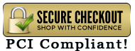 Shop with Confidence at FourCornersUSAonLine PCI Compliant Secure Checkout