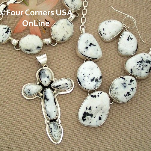 White Buffalo Turquoise Native American Jewelry Collection at Four Corners USA OnLine