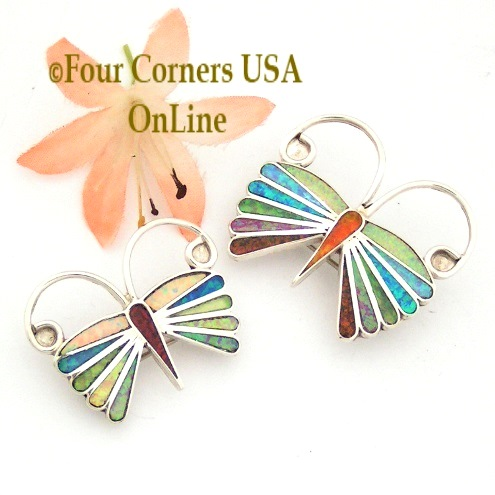 Pin Pendant Combination Four Corners USA OnLine Native American Jewelry