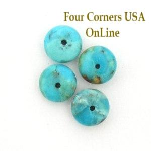 8mm Arizona Kingman Turquoise Beads Four Corners USA OnLine Jewelry Making Beading Supplies