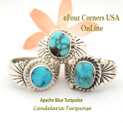 Shop Native American Artisan Rings for Men and Women by Ring Size Four Corners USA OnLine