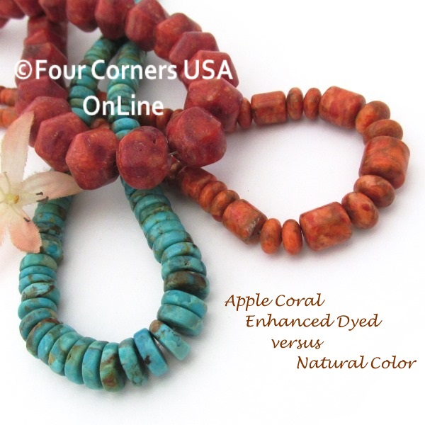 Coral Beads Southwest Jewelry Making Beading Supplies at Four Corners USA OnLine