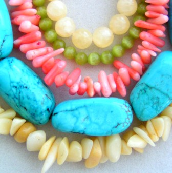 Turquoise Color Dyed Australian Magnesite