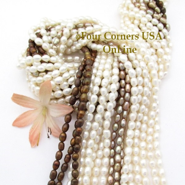 Pearl Bead Strands Jewelry Making Supplies Four Corners USA OnLine