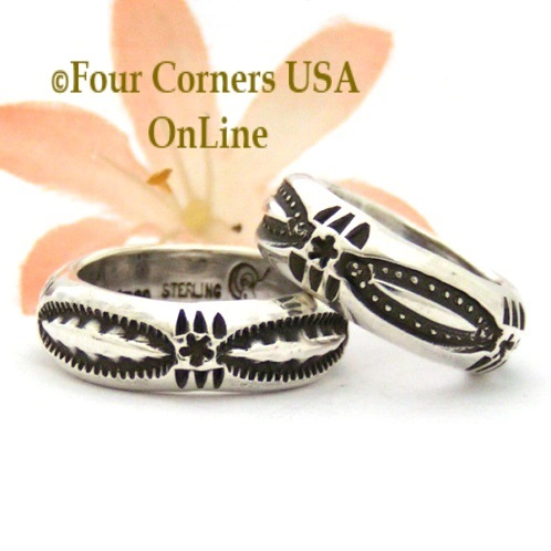 All Sterling Silver Mixed Metal Native American Rings Four Corners USA OnLine