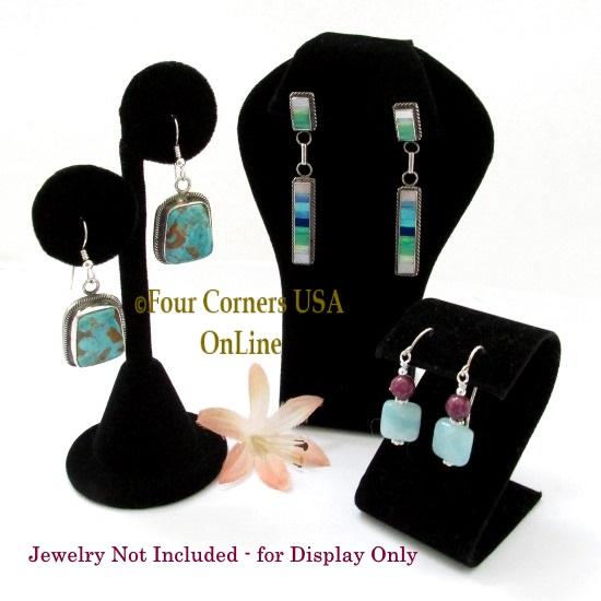 Jewelry Necklace Earring Bracelet Displays Four Corners USA OnLine