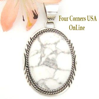 Howlite Four Corners USA OnLine Native American Silver Jewelry