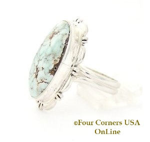 Dry Creek Turquoise Ring Four Corners USA OnLine Native American Jewelry