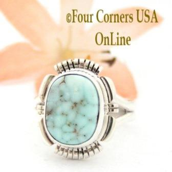 Dry Creek Turquoise Rings Four Corners USA OnLine Native American Jewelry