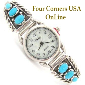 Native American Turquoise Watches Four Corners USA OnLine