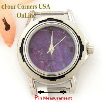 Watch Face Pin Measurement for Replacement Watch Faces Dials Four Corners USA OnLine