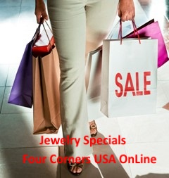 Native American and Artisan Jewelry Specials at Four Corners USA OnLine