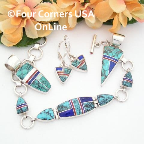 All Steve Harper's Stoneweaver Jewelry by Native American Artisans are On Sale Now at Four Corners USA OnLine!