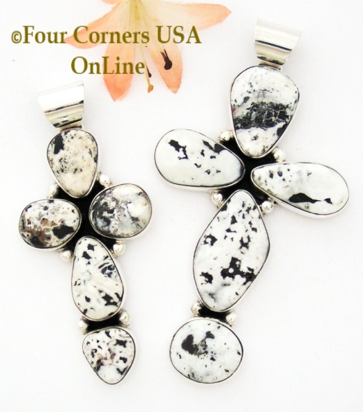 White Buffalo Turquoise Four Corners USA OnLine Native American Silver Jewelry