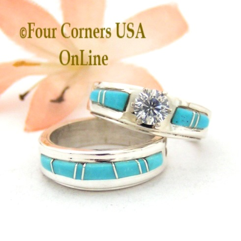 Size 4 Native American Rings Four Corners USA OnLine Jewelry